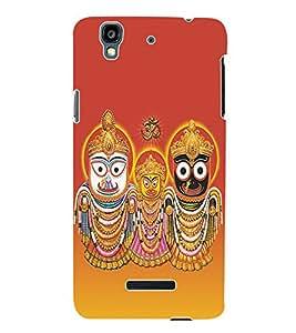 Fuson 3D Printed Lord Jagannath Designer Back Case Cover for Yu Yureka Plus - D513