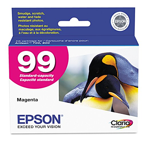 Epson T099320 - T099320 (99) Claria Ink, 450 Page-Yield, Magenta (Epson 99 Ink Magenta compare prices)