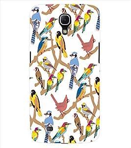 ColourCraft Bird Design Back Case Cover for SAMSUNG GALAXY MEGA 6.3 I9200