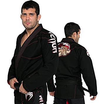 Venum Absolute 2.0 Crimson Viper Mens BJJ Gi Black