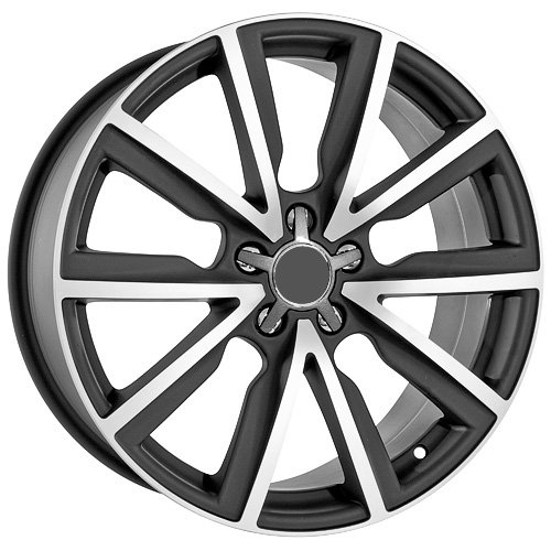 51J19FMuTBL 19 Inch Audi Wheels Rims Black (set of 4)