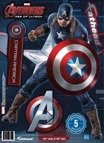 Marvel Avengers Captain America Fathead Teammate (Fathead Captain America compare prices)