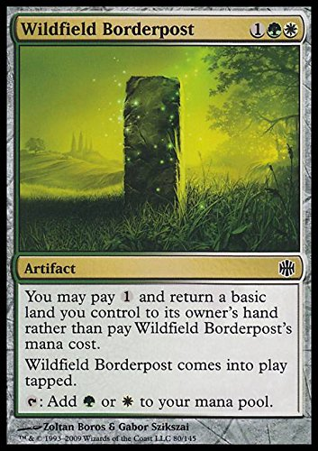 Magic: the Gathering - Wildfield Borderpost - Pietra di Confine della Selva Campestre - Alara Reborn - Foil