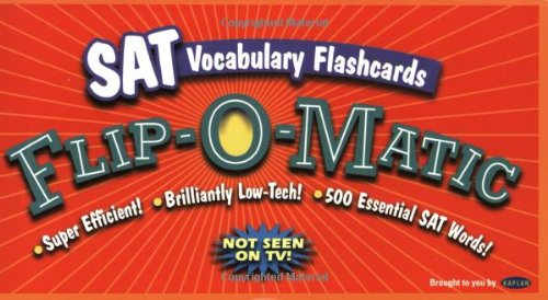 SAT Vocabulary Flip-O-Matic