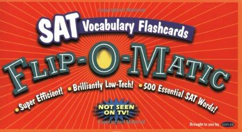 SAT Vocabulary Flip-O-Matic