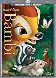 Bambi (Two-Disc Diamond Edition Blu-ray/DVD Combo in DVD Packaging) Blu-Ray