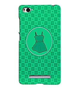 PRINTVISA Abstract Green Frock Case Cover for Xiaomi Mi4i