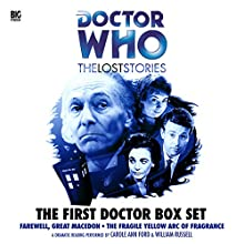 The First Doctor Box Set: Doctor Who: The Lost Stories Radio/TV Program Auteur(s) : Morris Farhi, Nigel Robinson Narrateur(s) : William Russell, Carole Ann Ford, John Dorney