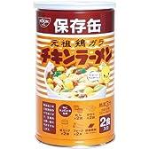 日清食品 チキンラーメン保存缶 128g(2食入)×12缶