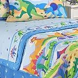Olive Kids New Dinosaurland Bedding Queen Bed Skirt