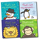 Fiona Watt That's Not My... Pack, 4 books, RRP £23.96 (That's Not My Snowman; That's Not My Lion; That's Not My Monkey; That's Not My Penguin...).