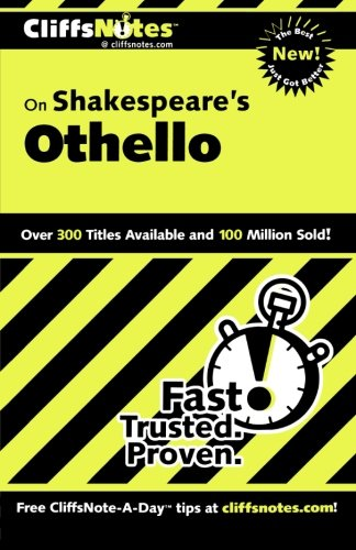 Buchseite und Rezensionen zu 'Cliffs Notes on Shakespeare's Othello' von Gary K. Carey