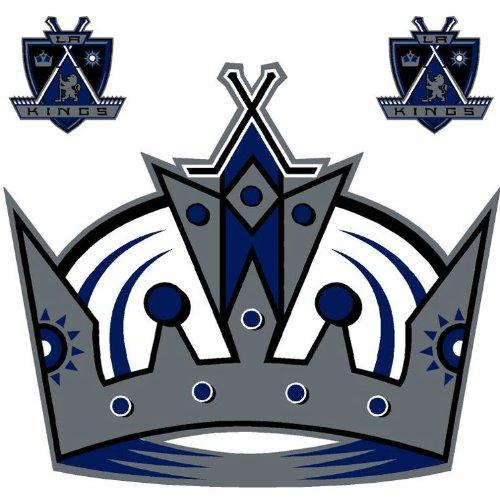 NHL Los Angeles Kings Hockey Wallmarx Wall Accent Set