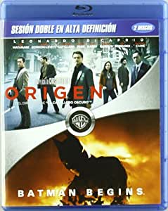 Origen + Batman Begins [Blu-ray]