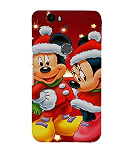 Ebby Premium Printed Mobile Back Case Cover With Full protection For Huawei Google Nexus 6P (Designer Case)