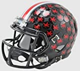 Ohio State Buckeyes 2015 Black Matte Riddell Speed Mini Football Helmet