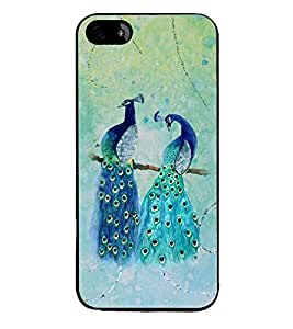 PRINTSWAG PEACOCK Designer Back Cover Case for APPLE IPHONE 4