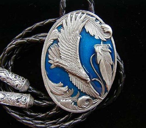 Soaring Eagle Bolo Tie