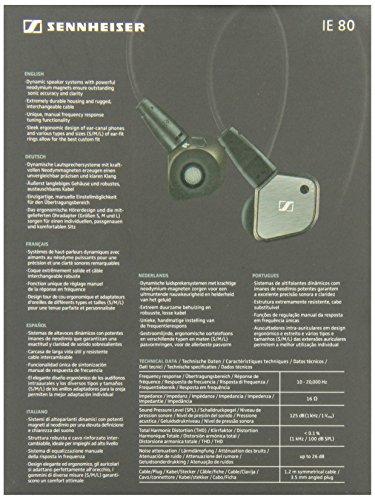 Sennheiser IE 80 Auricolare