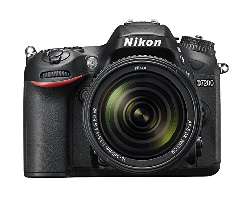 Find Cheap Nikon D7200 DX-format DSLR w/ 18-140mm VR Lens (Black)