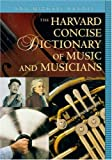 Image of The Harvard Concise Dictionary of Music and Musicians (Harvard University Press Reference Library)