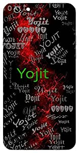 Yojit (Planner) Name & Sign Printed All over customize & Personalized!! Protective back cover for your Smart Phone : Moto G-4-Plus