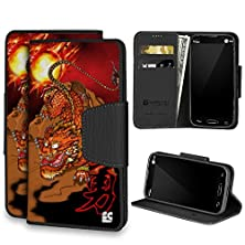 buy Spots8® For Lg G3 S & Lg G3 Mini & Lg Vigor & Lg Beat, Folio Flip Cellphone Case Wallet With Kickstand [Chinese Tiger Dragon]