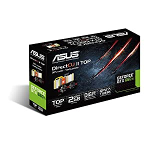 ASUS GTX 660 Ti Series Graphics Cards TI-DC2T-2GD5
