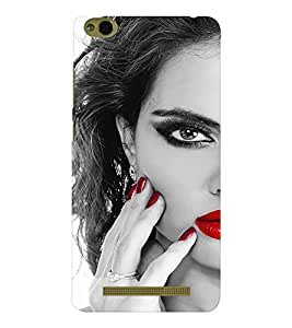 EPICCASE Lady with cool nailpaint Mobile Back Case Cover For Xiaomi 3S Prime (Designer Case)