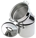 All-Clad Stainless 7-Quart Stockpot with Pasta Insert