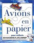 Avions en papier pour enfants