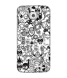 Samsung Galaxy S7 Edge Designer / Printed Back Cover -(pattern)