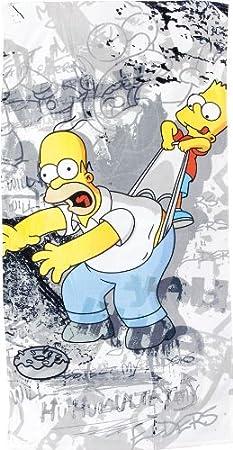 United Labels - Simpsons serviette de bain Why You Little 150 x 75 cm