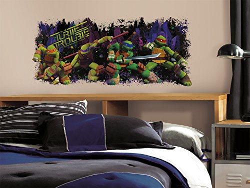 Teenage Mutant Ninja Turtle Trouble Graphix Peel & Stick Wall Decals 18 x 40in