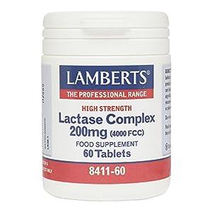 Lamberts Lactase Complex 200mg 60 Tablets