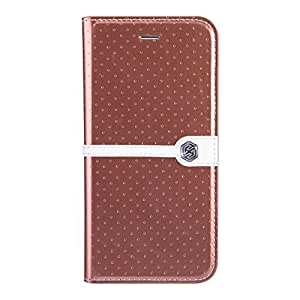Nillkin New Leather Case for Apple iPhone 6 - Retail Packaging - Brown