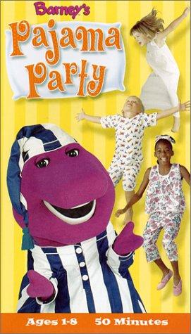 Barney - Barney's Pajama Party [VHS]