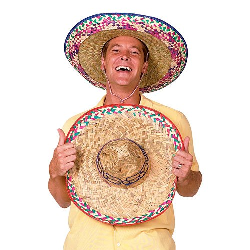Sombrero Party Hat Colors May Vary