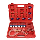 CARVS Common Rail Diesel Injector Flow Meter With 24 Adaptors Fuel Line Test Tester Diagnostic/ Diagnosis Tool Set