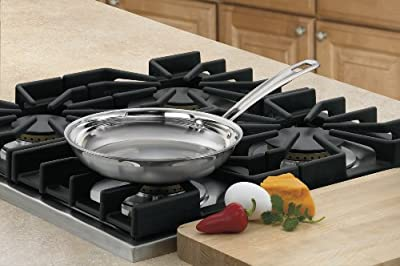Cuisinart MCP22-20N MultiClad Pro Stainless 8-Inch Open Skillet