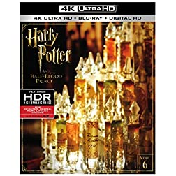 Harry Potter and the Half Blood Prince [4K Ultra HD + Blu-ray]