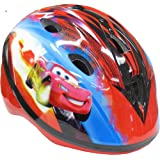 Bike Helmet Disney Cars Toddler Design self-adjusts PinchGuard Red