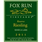 2011 Fox Run Vineyards Riesling Reserve 750 mL