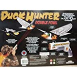 Interactive Toy Concepts Duck Hunter Indoor DOUBLE Flying Fowl Hunting Game