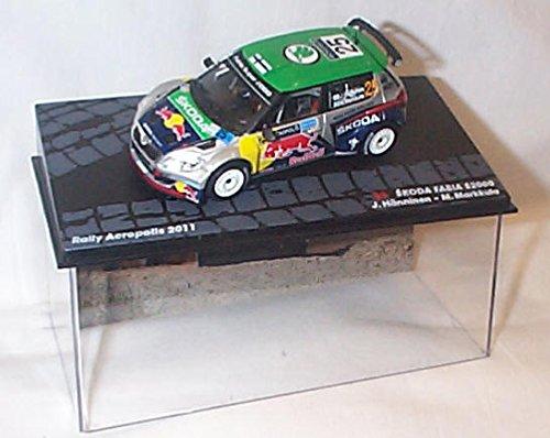 ixo-skoda-fabia-s2000-rally-acropolis-2011-car-143-scale-diecast-model