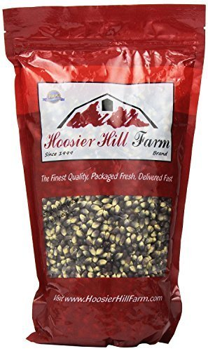 Hoosier Hill Farm Gourmet Popcorn Huge 6 lb. Family Size (Persian Blue) (Persian Blue Popcorn compare prices)