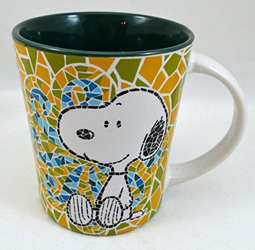 Peanuts Comic S Snoopy Mosaic Design - 15 Oz. Coffee Mug
