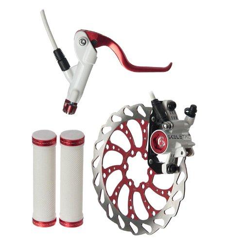 Buy Low Price Clark's Skeletal Hydraulic Brake L.E. Kit, 160mm, Red/White/Black (SXF+R-160SE)