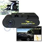 Car Black Box -Timetec Road Hawk 1080P HD Car Vehicle Road Traffic Accident/Incident Dash Windshield Dashboard Video Audio Camera Recorder Camcorder DVR System Black Box Built in Microphone, GPS, G Gravity Sensor with SD Memory Card, Media Player of Route Tracking, 3D Forces, Google Map