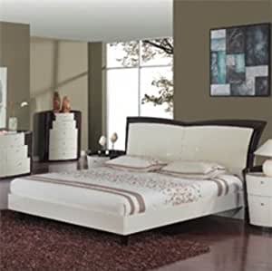 Global Furniture Usa New York Collection Mdf Wood Veneer Bedroom Set With Full Bed